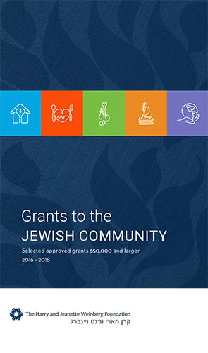 2019 Jewish Community Grants Overview