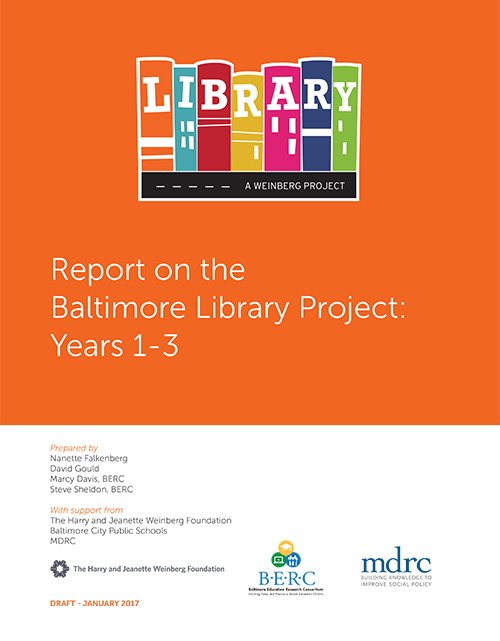 Baltimore Library Project Report
