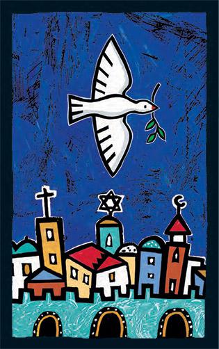 Israel Mission Dove